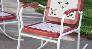 Retro Patio Chair Patio U0026 Pergola Paradisecovemetalarmchair Stunning Vintage Patio