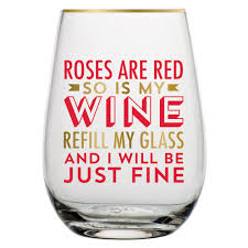 these wine glasses have some strong honest and very funny messages