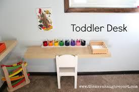 Toddler Desk Set Montessori Toddler Bedroom Toy Basket Book Letters And