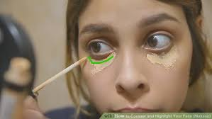 image led contour and highlight your face makeup step 2
