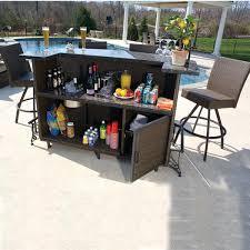 Patio Bar Furniture Set Unique Bar Patio Set For 61 Patio Bar Set Costco 2ftmt Me