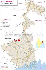 Bay Of Bengal Map Suri Location Map Where Is Suri