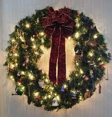 our christmas wreath bird brains u0026 dog tales