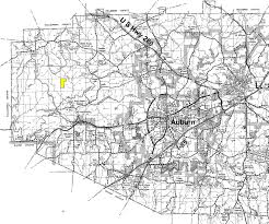 Map Of Alabama Counties 160 Acres In Lee County Alabama