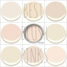 Color Neutral by My 9 Favorite Blush Pinks Early Sunset Gentle Repose Old