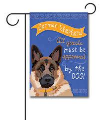 Yard Flags Wholesale German Shepherd Garden Flag 12 5 U0027 U0027 X 18 U0027 U0027 Custom Printed