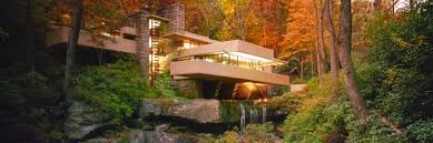 frank lloyd wright waterfall arch 334