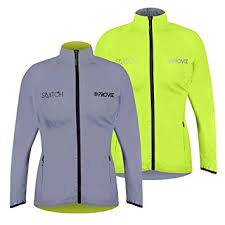 bicycle jackets for ladies proviz women s switch reflective cycling jacket amazon co uk