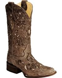 womens size 11 square toe cowboy boots corral s vintage inlay and stud square toe boots