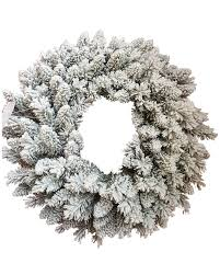 36 jr prince flock wreath with 150 warm white led lights king