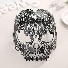 mardi gras skull mask masquerade masks coofit venetian carnival mask costume