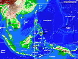 Southeastern Asia Map by Southeast Asia Physical Map A Learning Family