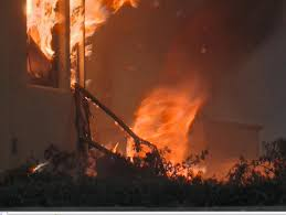 California Wildfire Names by A Fire Tornado Swirls Near A Home In Southern California