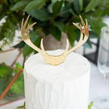 antler cake topper wedding cake toppers personalized in glitter or wood page 2 z