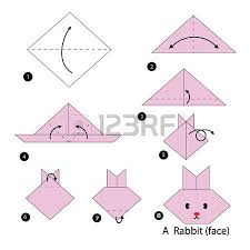 Step By Step Origami For - step by step how to make origami snake royalty free