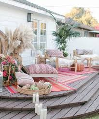 Patio 4 Patio Decorating Ideas by Best 25 Bohemian Patio Ideas On Pinterest Bohemian Porch