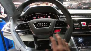 Audi A9 Cost Exclusive Hands On Audi Q8 Concept Interior Youtube