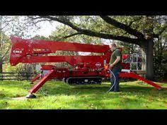 Backyard Buddy Lift Reviews Product Review Platform Basket 18 90 Crawler Mounted Aerial Lift