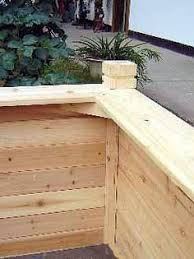 Raised Garden Bed With Bench Seating Raised Garden Bed With Trim For Sitting Or Kneeling Garden