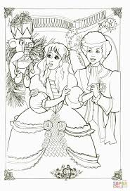 the mouse king and dolls coloring page free printable coloring pages