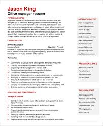 Office Manager Resume Sample by 35 Resume Templates Free U0026 Premium Templates