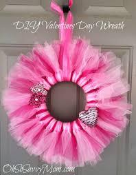valentines day wreaths s day door wreath diy oh so savvy