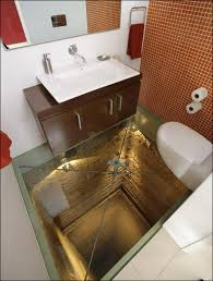 outrageous glass floor bathroom takes universal design to new