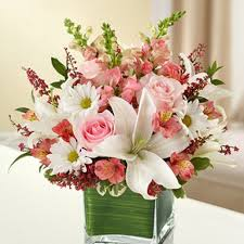 sacramento florist healing tears pink and white in sacramento ca bouquet of