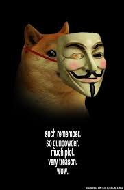 Guy Fawkes Mask Meme - littlefun doge guy fawkes