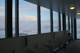 bathroom design state of the stream 2016 catherine hofmann note because of european danish icelandic design i simply did not have this problem in iceland the bathrooms were a dream here s the sink situation at