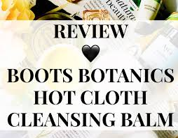 buy boots botanics canada review boots botanics cloth cleansing balm
