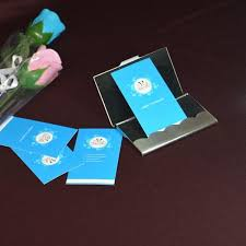Promotional Business Card Holders Fashion Metal Card Stock Business Card Holder High Range