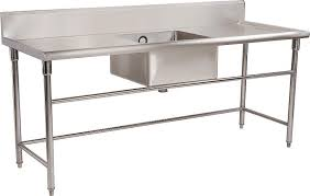 prep table with sink commercial kitchen prep table fresh china metal sink table wholesale