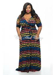 styles of wearing plus size maxi dress
