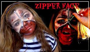 zipper face tutorial youtube