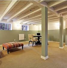Partially Finished Basement Ideas Finished Basement Ceiling Ideas Fireplace Basement Ideas