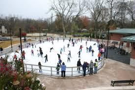 flintco lawrence plaza ice rink u0026 splash pad flintco