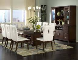 white dining rooms excellent dining room leather chairs decor ideas and showcase