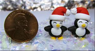 sculpey mini penguins by talty on deviantart