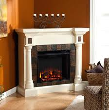 electric fireplace entertainment center home depot white sears