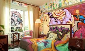 Cool Graffiti Wall Mural Ideas Critical Cactus - Graffiti bedroom
