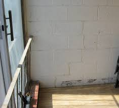 Parge Basement Walls by Smooth Over Painted Block Wall Painting U0026 Finish Work