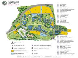 Cal Poly Campus Map Cal State Monterey Bay Campus Map Image Gallery Hcpr
