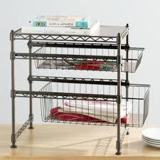 Kitchen Cabinet Storage Shelves Cabinet Organizers You Ll Wayfair