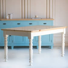 coastal vintage and farmhouse inspired dining tables the kitchen