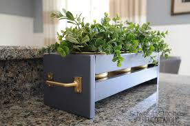 ikea planters remodelaholic how to build modern tabletop planters