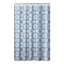 creative bath belle 70 in x 72 in chenille cotton shower l shower