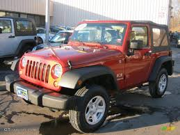 Wrangler 2009 2009 Sunburst Orange Pearl Coat Jeep Wrangler X 4x4 45770949