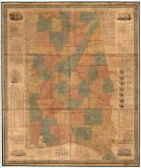 Map Alabama Map Of The State Of Alabama David Rumsey Historical Map Collection