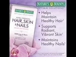 nature u0027s bounty hair skin u0026 nail vitamins review youtube
